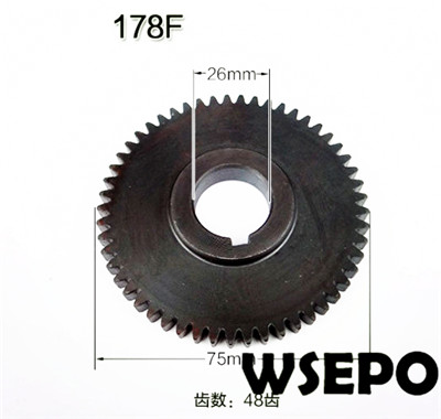 Wholesale 178F L70 6hp Diesel Engine Balance shaft timing gear