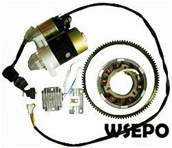 Wholesale 186,188 9-10hp Diesel Engine Parts,Electric Start Kit