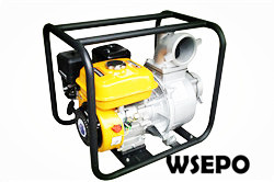"4"" Portable Water Pump Powered by 7hp Gas Engine,Aluminum Pump"