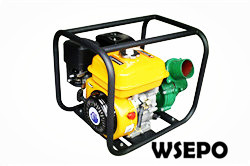 "3"" Centrifugal Water Pump Powered by 7hp Gas Engine,Iron Pump"